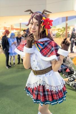「ラブライブ!サンシャイン!!」の桜内梨子に扮したみんとさん