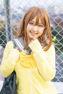 「ラブライブ!サンシャイン!!」の国木田花丸に扮したりいさん