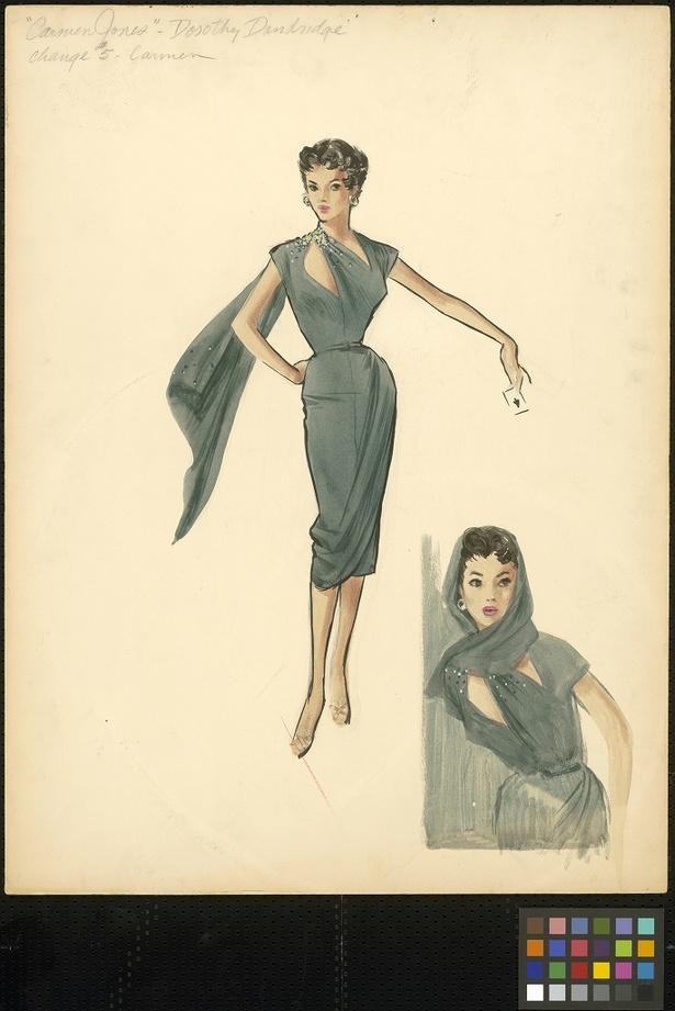 『Carmen Jones』衣装デザイン