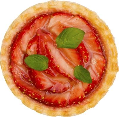 【写真を見る】無料でもらえるパイのひとつ「ストロベリー QUICPie」