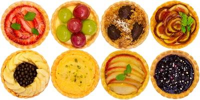 ストロベリー/ブドウ/マロン/イチジク/バナナ/ラフランス/アップル/ブルーベリーの全8種類
