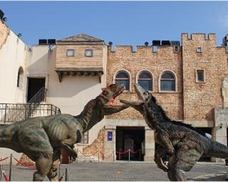 恐竜が蒲郡に出没!?驚愕の超恐竜体験「ファントム・オブ・ダイナソー」がラグーナテンボスで開催!