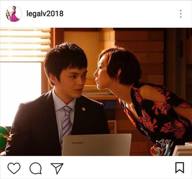 ※画像は「リーガルV―」公式Instagram(legalv2018)のスクリーンショットです