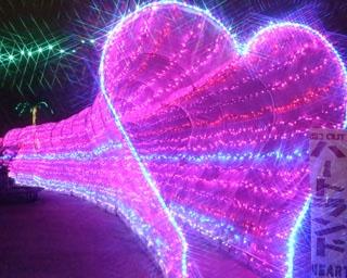音と光と花火の演出!沖縄こどもの国で「クリスマスファンタジー&雪と光の冬物語」開催
