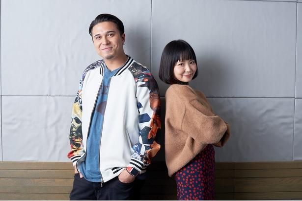 カズーダ・ジオノ(カズ)役:木村昴とトーラ・ドーザ役:佐藤美由希