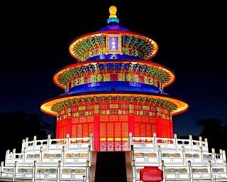 直径18メートル・高さ12メートルの天壇