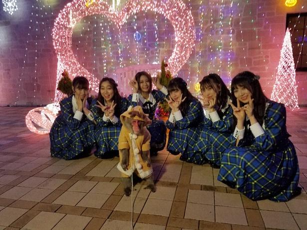 SKE48が24thシングル「Stand by you」のヒット祈願!