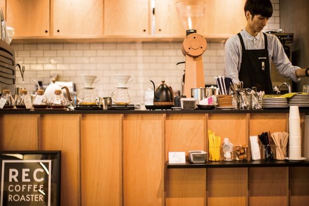 REC COFFEE meets RETHINK CAFE(福岡市中央区天神)