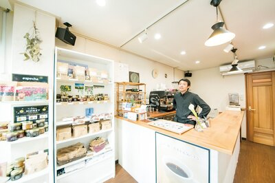 COFFEE STAND seed village(福岡市中央区大名)
