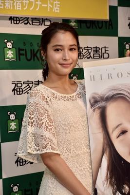 2019年カレンダーの発売記念イベントに出席した広瀬アリスさん