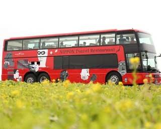バスで移動しながらその土地の食材を楽しむレストランバスが東海地区に初登場
