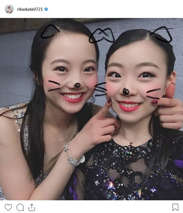 「本田真凜紀平梨花画像」の画像検索結果