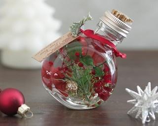 デコレーションにもプレゼントにも使える!クリスマスに「ハーバリウム」のススメ