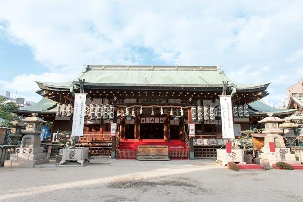 学問の神様を祀る天満の天神さん/大阪天満宮