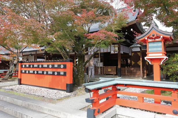 芸能人も訪れるパワースポット/車折神社