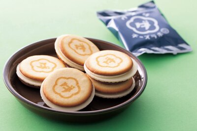 5層のハーモニーが絶妙なクッキー、「ウメダチーズラボ」のクッキー(8枚入り・1080円)/大丸梅田店