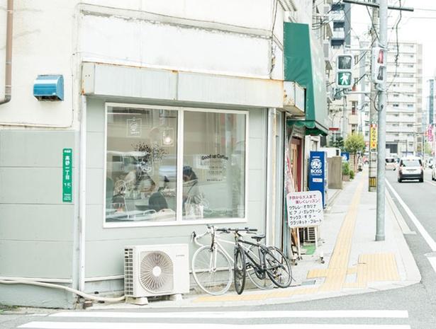 Good up Coffee / 新店ができると2軒続きのカフェに。 豆の販売も始める