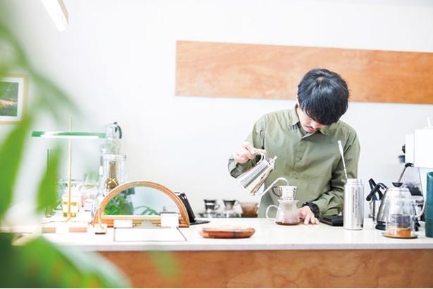 COFFEE & CAKE STAND LULU / コーヒーは3種の抽出法を選べる