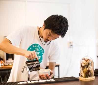 Connect Coffee / 14年の「UCCコーヒーマスターズ全国大会ラテアート部門」優勝など、数々の競技会で結果を残す