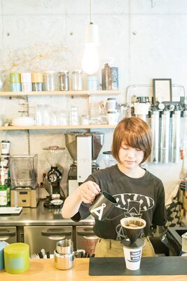 TAG STA / コーヒーは橋口さんが「コーヒーらしいコーヒー」と好む深煎りの豆が中心
