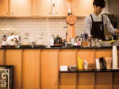 REC COFFEE / 8月にオープンしたばかり