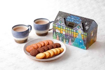 白い恋人パーククッキーBOXもイルミネーションパッケージが登場(756円)