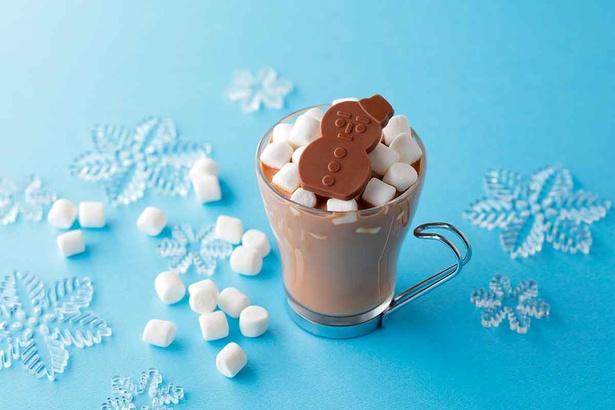 雪だるまくんホットチョコレートドリンク(450円)