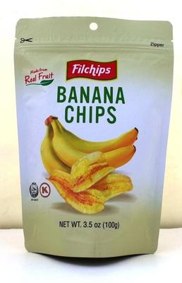 薄くスライスされたバナナの食感が絶妙な「フィルチップス バナナチップス」/成城石井直輸入 世界のお菓子セット