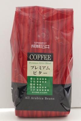 アラビカ豆を100%使用した、ビターな味わいのコーヒー「成城石井 プレミアムビター(粉)」/成城石井オリジナル&直輸入 こだわり食品セット