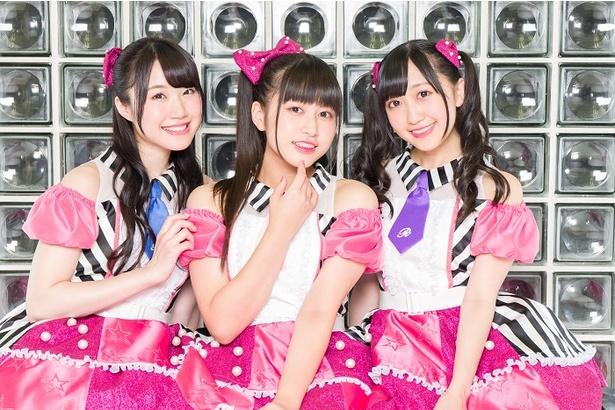 先行上映会ではキャスト3人のユニット・Run Girls, Run!によるOP曲が披露される
