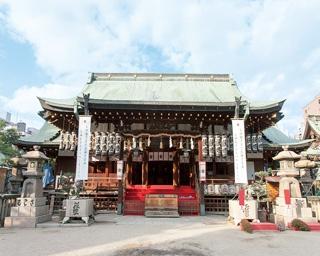江戸時代の記録に残るだけでも7度も火災にあった大阪天満宮。現在の本殿は1843(天保14)年に再建/大阪天満宮