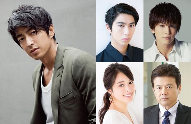 大沢たかお主演、賀来賢人、岩田剛典、広瀬アリス、三浦友和らが出演する映画「AI 崩壊」が2020年に公開される