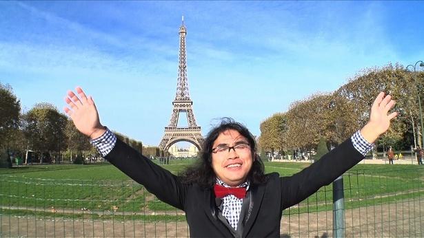 中岡創一、フランス・パリに上陸!