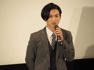 本作で映画初主演を果たした松田凌