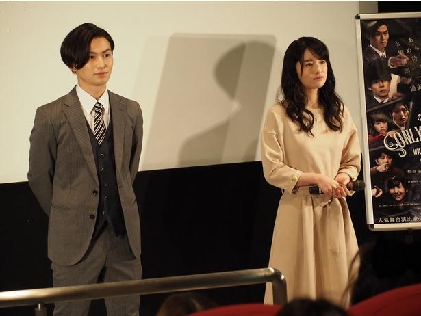 舞台でも度々共演している松田と皆本