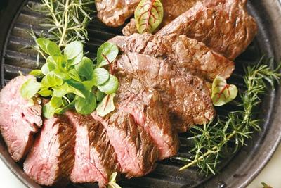 九州産和牛のビーフステーキ