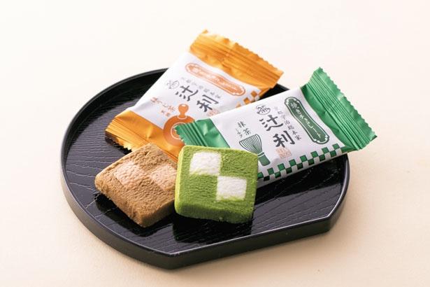 「辻利」の辻利焼きチョコレート(10個入り702円)/京名菓・名菜処 亰