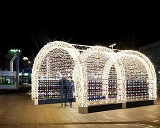 冬の富山市をあたたかな光で包む「ホワイトイルミネーションとやま」開催中