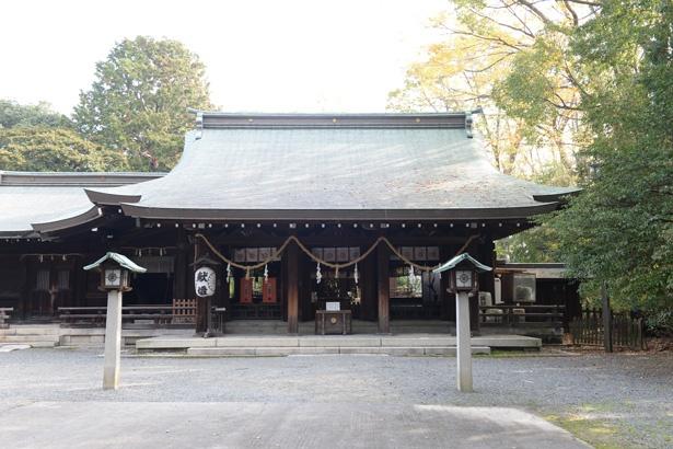 重要文化財の茶室などがある境内/水無瀬神宮
