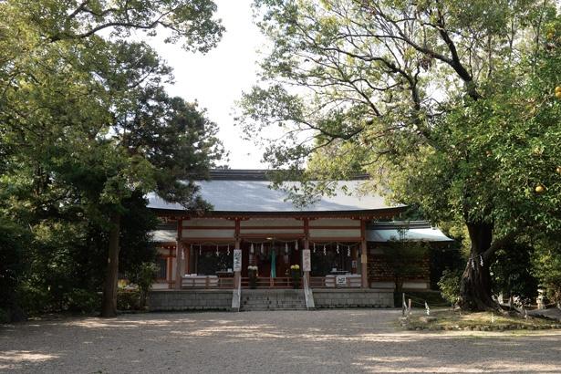 古代豪族の稗田猿女君(さるめのきみ)の邸宅があったと伝えられる奈良の集落の一角にある神社/賣太神社