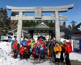 雪山登山初心者集まれ!愛媛県西条市で雪山チャレンジ教室開催