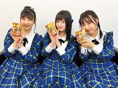 【写真を見る】SKE48ラーメン部とラーメンWalker東海とのコラボカップラーメン発売中!