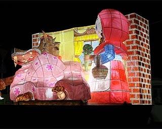光り輝く絵ぶたが登場、岡山県で「第18回 冬絵ぶた&イルミネーション」開催中