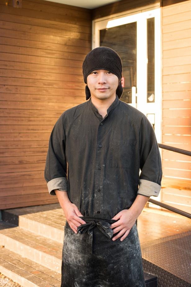 栃木1位の店主の小白井誉幸さん
