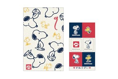 「スヌーピー ポチ袋 (和風)」(108円)