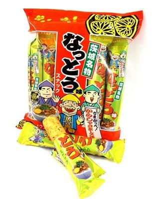 【写真を見る】納豆スナック(270円・12本入り)