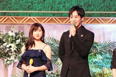 特別ゲストとして土屋太鳳と松坂桃李の二人が来場。枠順決定に大きな影響を与える大役を任され「変わっていただきたい」(松坂)と思わずこぼした