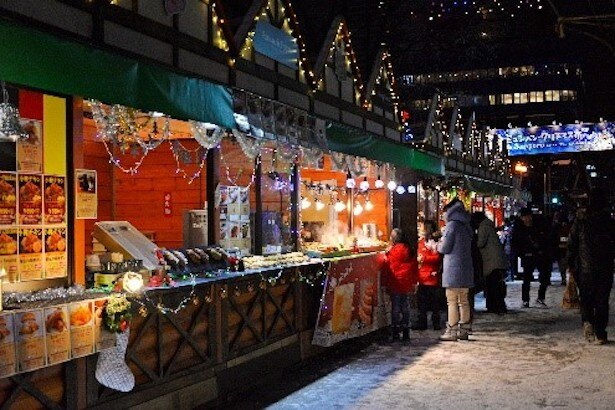 【写真を見る】ミュンヘン・クリスマス市in Sapporoの様子