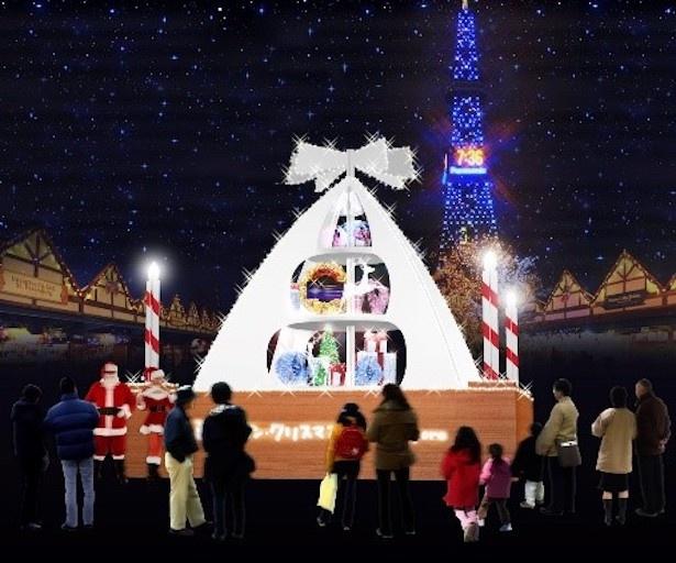 2018年に初披露されたオリジナルオブジェ「Gift of Snow」※写真はイメージ