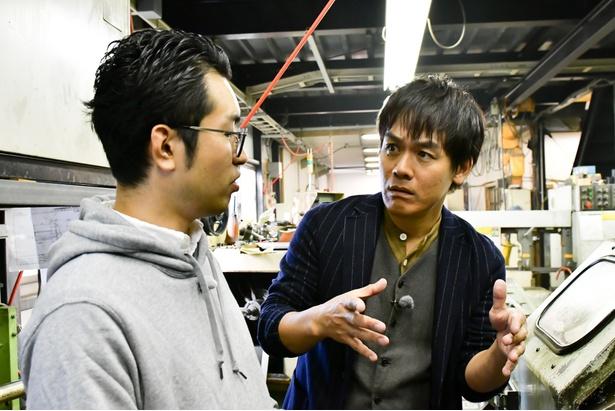 """「坂上&指原のつぶれない店SP」で、森崎博之が""""つぶれない町工場""""へ向かう!"""